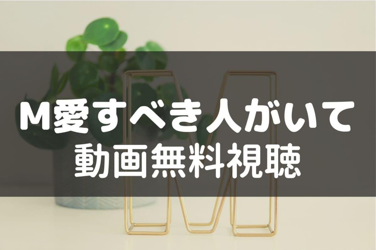 土曜ナイトドラマ『M 愛すべき人がいて』の見逃し動画(1話から最終話 ...